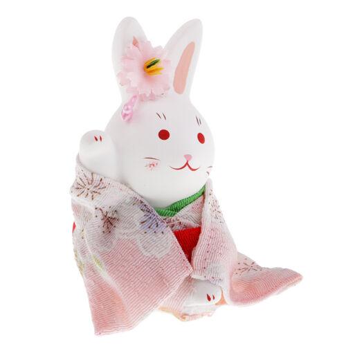 das Glücks Innenministerium Hochzeits Auto Japanisches Kimono Kaninchen