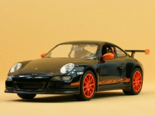PORSCHE 911 black GT3 RS WELLY 1:24 997