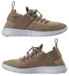 Details about NIKE FREE RN COMMUTER 2017 PREMIUM WOMEN's RUNNING KHAKI MED OLIVE OFF WHITE
