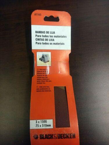 Noir Et Decker Ponçage Ceinture pour bois 75x510mm