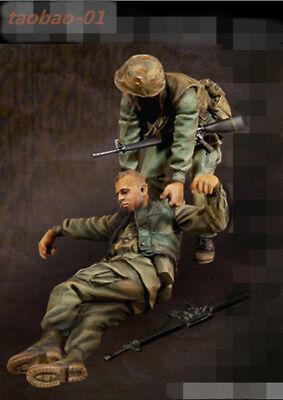 █ 1//10 Resin Figure Bust US Sergeant Vietnam War Unpainted