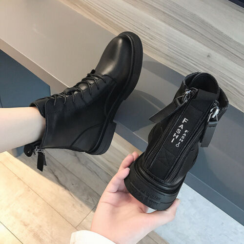 Martens Boots Women/'s Fashion Ins Autumn//Winter Thin and Velvet Ankle Boots Dr