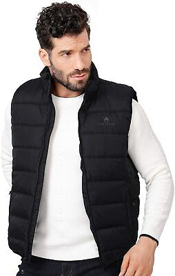 Wantdo Womens Cotton Padded Gilets Winter Outerwear Vest Windproof Body Warmer Vest Hooded Warm Gilets