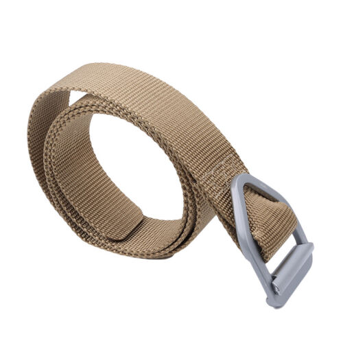 Mens Military Combat Gear Tactical Belts Military Web Nylon Survival Belts G