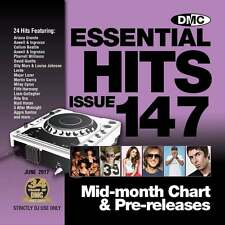DMC Essential Hits 147 Chart Music DJ CD - Latest Releases of Radio Edit Tracks