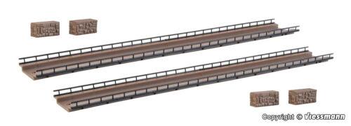 Vollmer Spur N 47825  Fahrbahn gerade 2 Stück   NEU//OVP