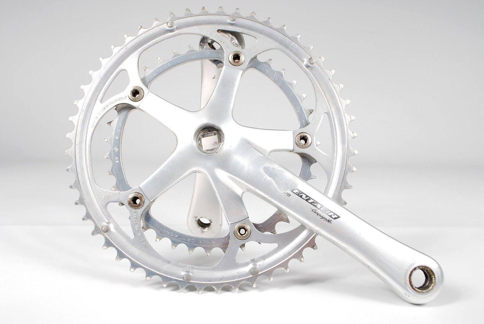 Campagnolo Centaur Road Bike Crankset 170mm BCD 135mm 52 39T Double