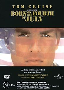 1 of 1 - Born On The Fourth Of July (DVD, 2003)