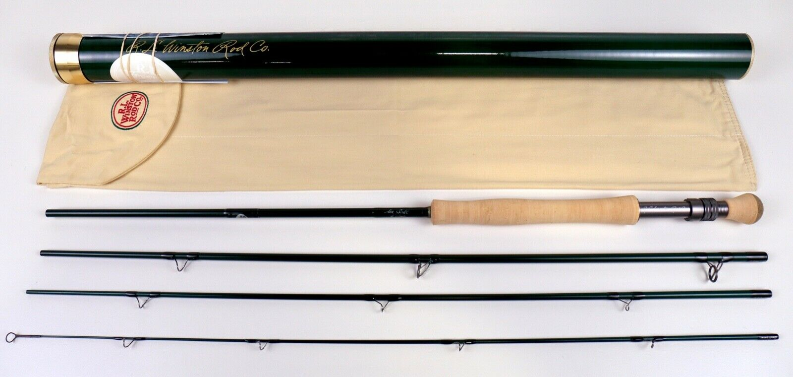 R L Winston 9' 6 WT Air Salt Fly Rod Free  130 Line Fast Free Shipping