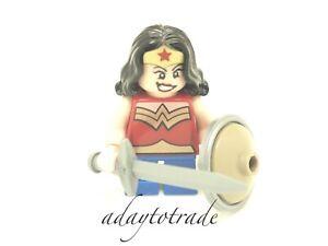 LEGO-D-C-Comics-Super-Hero-s-Mini-Figure-Wonder-Woman-76070-SH358-R771