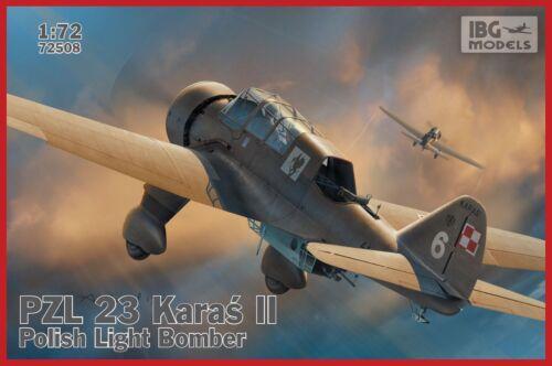 IBG 1//72 PZL.23 Karas II polonais Light Bomber nº 72508