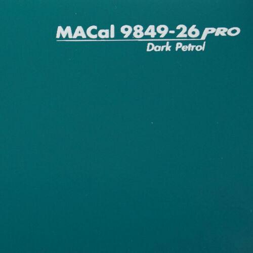 7,32 € //m Plotterfolie dunkelpetrol glänzend Selbstklebefolie 61,5 cm 3 m