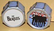 THE BEATLES apple corp 2006  SALT & PEPPER SHAKERS SHAPED LIKE DRUMS