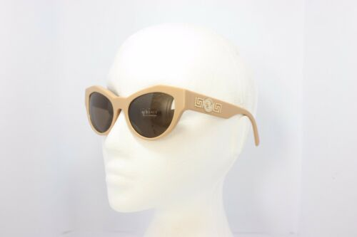 3bb51f7cc08 7 of 9 Versace Mod. 4253 5074 73 Ivory Gold Cats Authentic Boxed Designer  Sunglasses