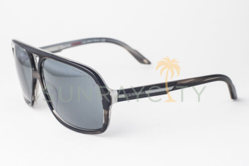 Carrera 7011 Xcede Black Ice Gray Polarized Sunglasses 7011//S K2P