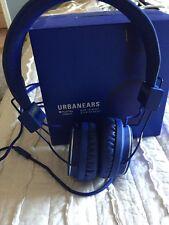 URBANEARS Plattan Cobalt Headphones EUC