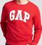 GAP Embroidered Gap Logo Embroidered Crew neck Pullover Sweatshirts u pick 1 NEW