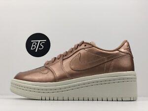 fdacbf612de7 Women s Nike Air Jordan 1 Re Low Lifted Size-5.5 Bronze Tan (AO1334 ...