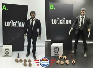 【AUTHENTIC ELEVEN】1//6 Wolverine Logan Action Figure Full Set
