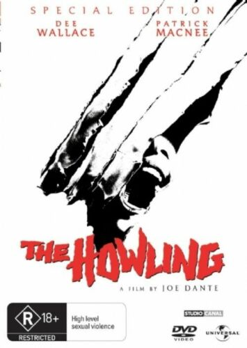 1 of 1 - The Howling [ DVD ] LIKE NEW, Region 4, FREE Next Day Post from NSW