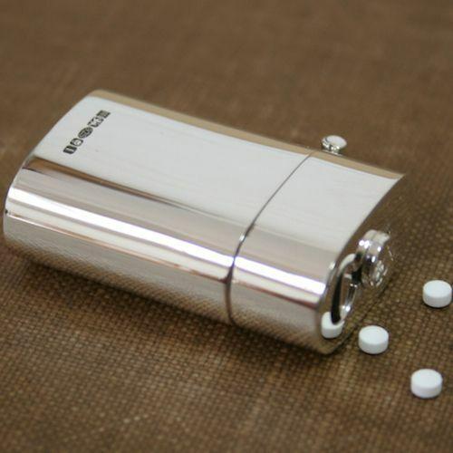 Solid Silver Mini Sweetener Holder
