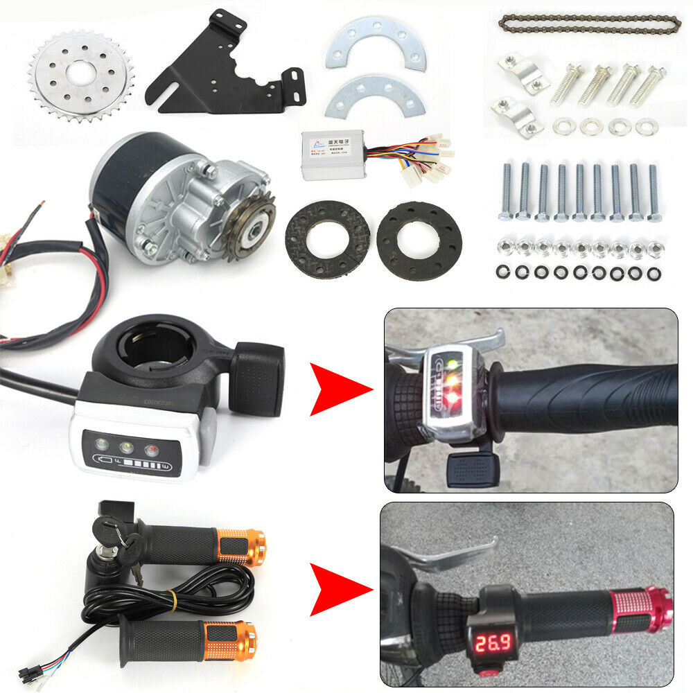 24V 250W Electric  Bicycle Conversion Kit E-Bike Motor Controller Kit 2 Choose  export outlet