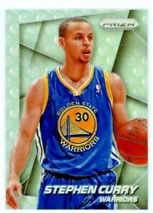 STEPHEN-CURRY-2014-15-Panini-Prizm-Variation-SILVER-Refractor-12-GS-Warriors