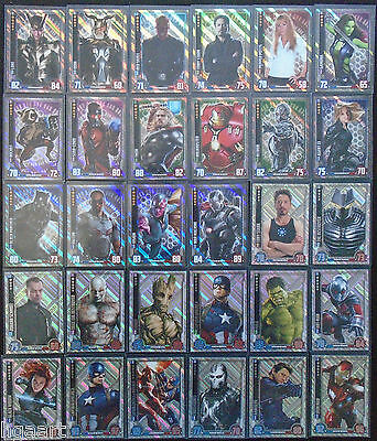 Hero Attax Marvel Cinematic Universe Choose One Foil Card from List