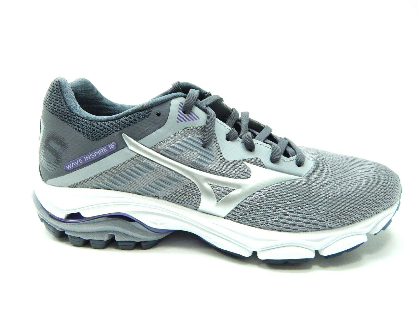 Mizuno Wave Inspire 16 Vapor Blue Silver Running Femmes Chaussures taille 11 neuf sans boîte