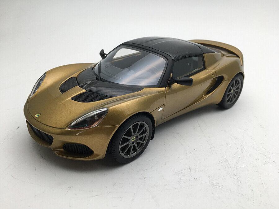 Lotus Elise Sprint Metallic Gold 1 18 Model TECNOMODEL