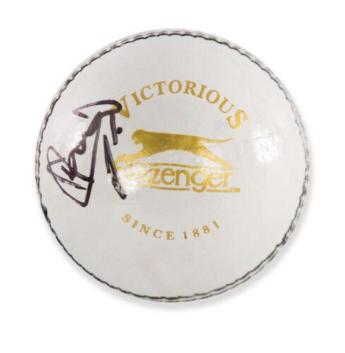 Ian Botham Signed Cricket Ball White Slazenger Autograph