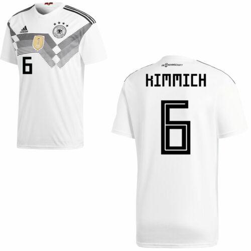 CALCIO Adidas DFB Germania Maglia Home Casa Maglia WM 2018 giocatori nome