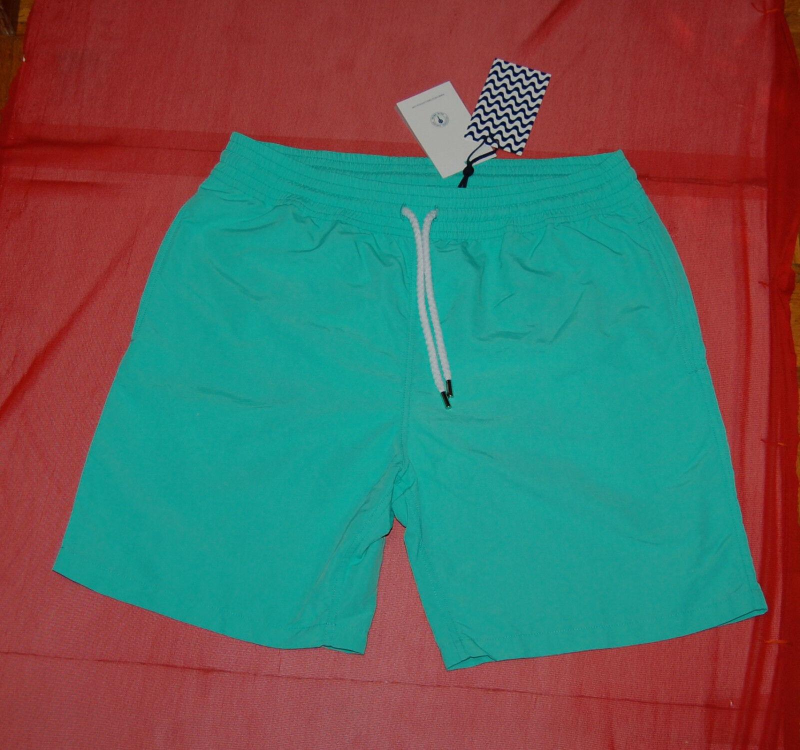 NWT FRESCOBOL CARIOCA mens green swim trunk boxer size XL  no bag