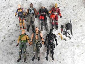GI Joe Classified Series Duke, Snake Eyes, Scarlet, Destro, Scarlett, Gung Ho