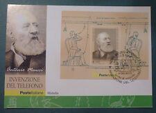 MAXI CARD - FDC - ANTONIO MEUCCI - FGL. 2003