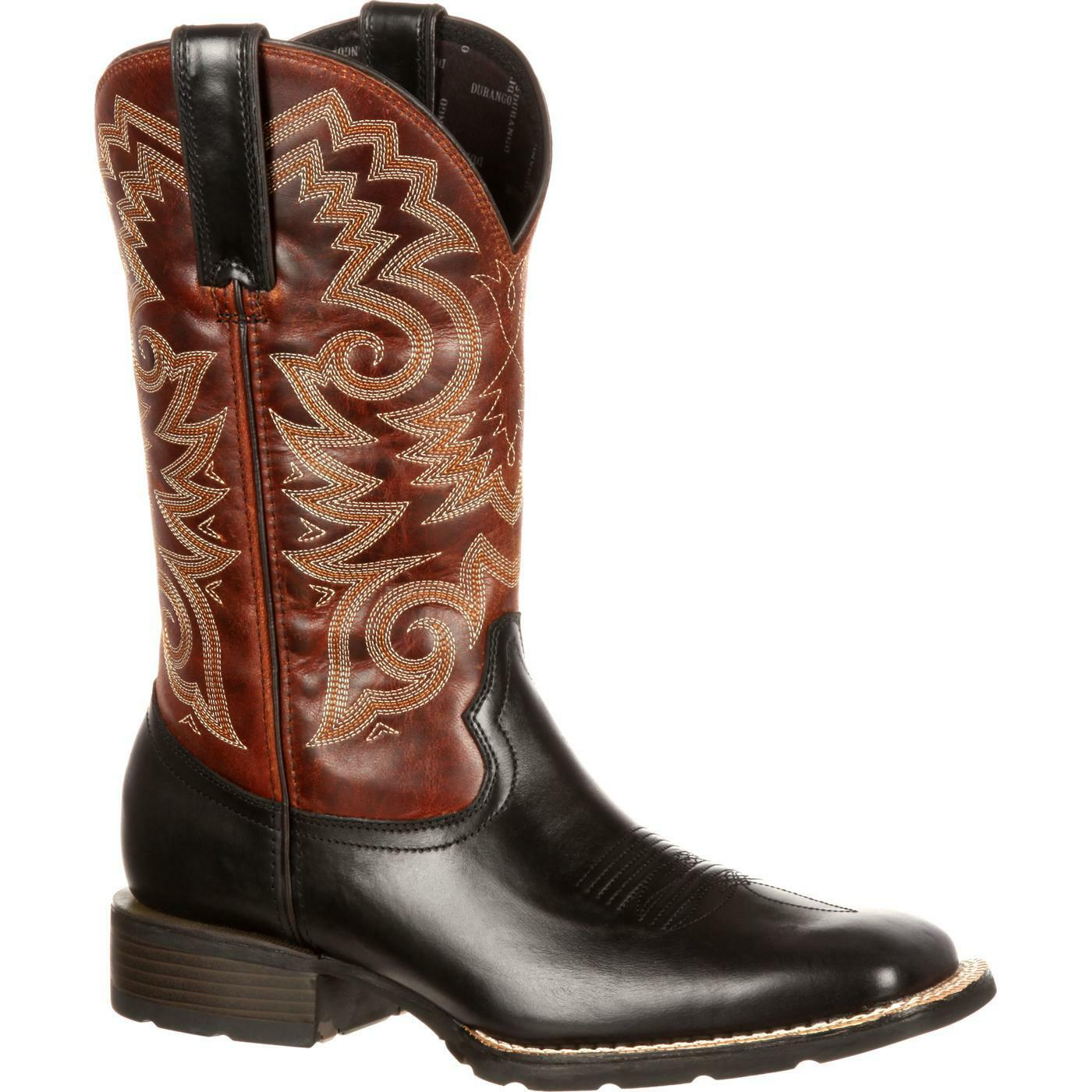 Durango Men's Mustang Brown Black Boot DDB0081
