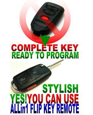 STYLE FLIP REMOTE FOR MITSUBISHI GQ43VT6T CLICKER FOB KEYLESS ENTRY KEY RCU R.R