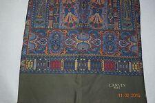 Vintage Lanvin Silk Scarf made in France