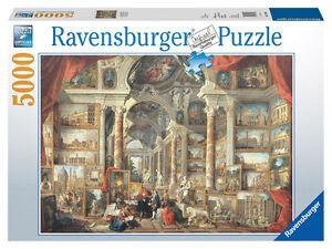 RAVENSBURGER-PUZZLE-Puzzles-PANINI-pannini-la-moderne-Rome-UVRES-D-039-ART-eglise