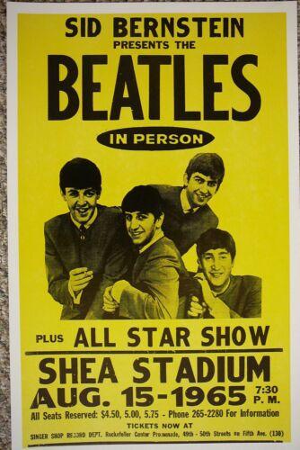 0255 Vintage Music Poster Art The Beatles