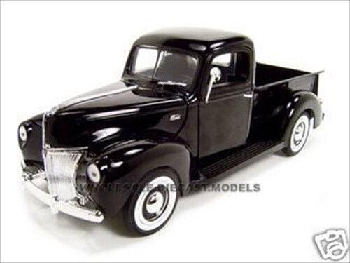 1940 ford pickup black 1 18 diecast model carmotormax 73170   ebay