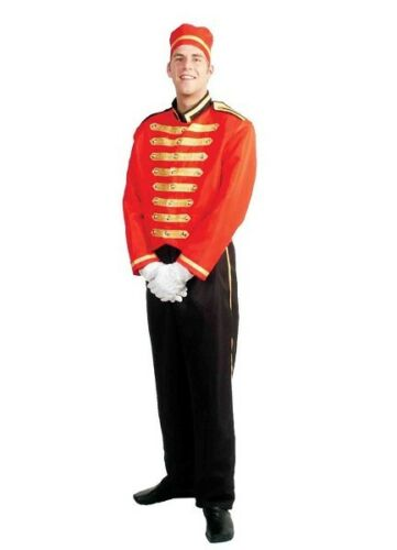 Hotel Porter Deluxe Bell Boy Buttons Pantomime