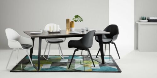 made.com - Set of 2 Boone Dining Chairs - Black