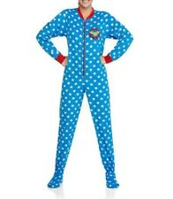 DC Comics Wonder Woman Footed Pajamas 1 PC Sleeper Costume NEW L or XXL LAST ONE