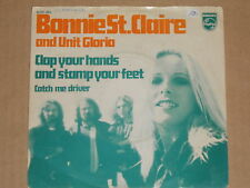 """BONNIE ST. CLAIRE (AND UNIT GLORIA) -Clap Your Hands And Stamp Your Feet- 7"""" 45"""