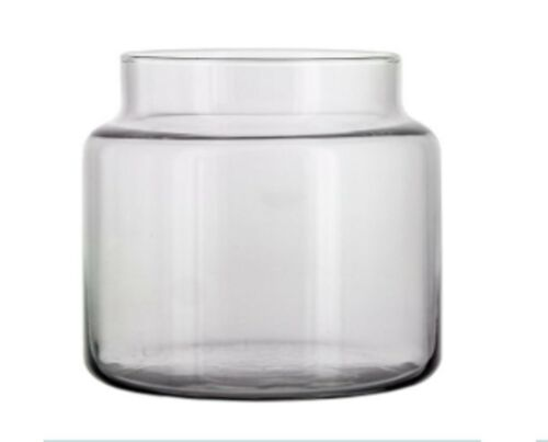 4 oz Apothecary Style Empty Clear Candle Jars for Candle Making