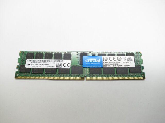 32GB RAM Memory SuperMicro SuperServer 4048B-TR4FT DDR4-19200 - Reg PC4-2400