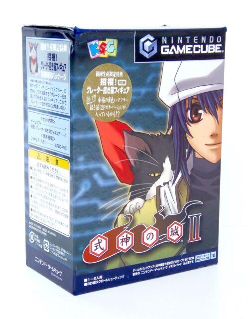 SHIKIGAMI NO SHIRO II 2 Limited Edition Nintendo Gamecube GC Reg Figure Japan