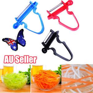 Portable 3pcs Magic Peeler Vegetable Fruit Cutter Kitchen Tools Slicer Shredder