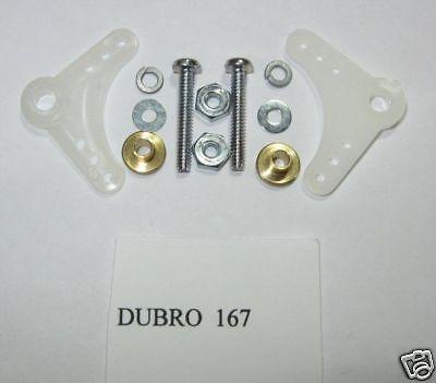 Dubro 90  Nylon Bellcrank Assembly 167